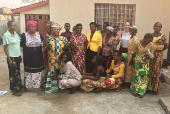 The LWF was part of a delegation that recxently met with survivors of sexual violence in the Democratic Republic of Congo. Photo: Mukwege Foundation