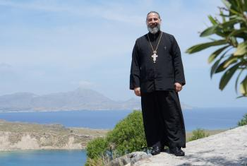Archimandrite Alexi Chehadeh was a member of LWF's Joint Lutheran-Orthodox Commission since 2015. Photo: Kenneth Appold
