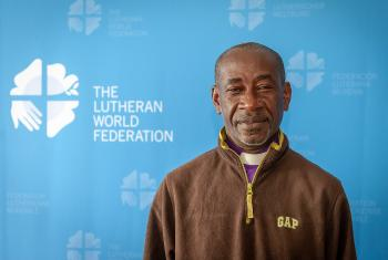 Bishop Antonio Alfredo Barros, Western Diocese of the Evangelical Lutheran Church of Angola. Photo. S. Gallay