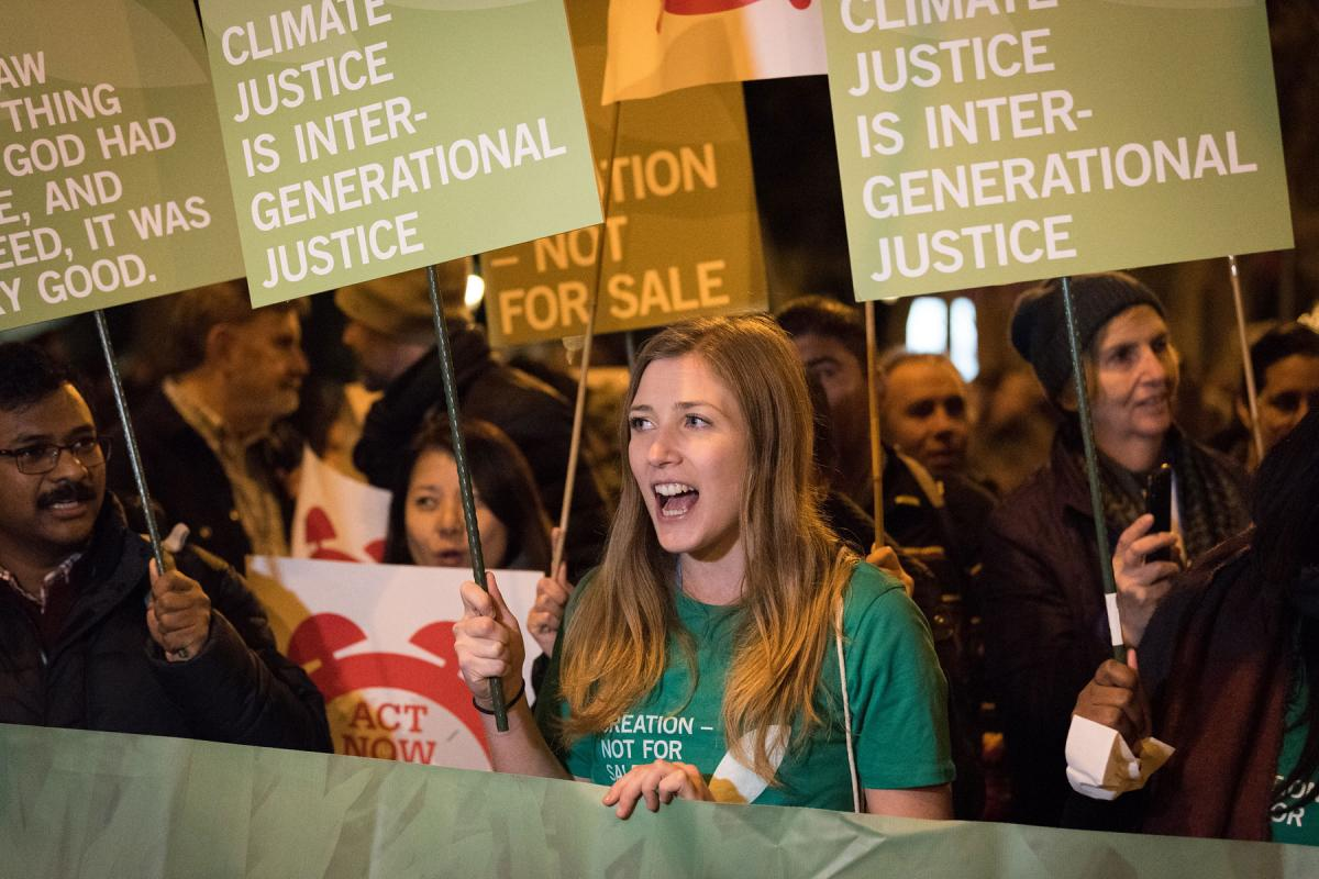 There is no planet B. Young people deserve a future without a climate crisis. Photo: LWF/Albin Hillert