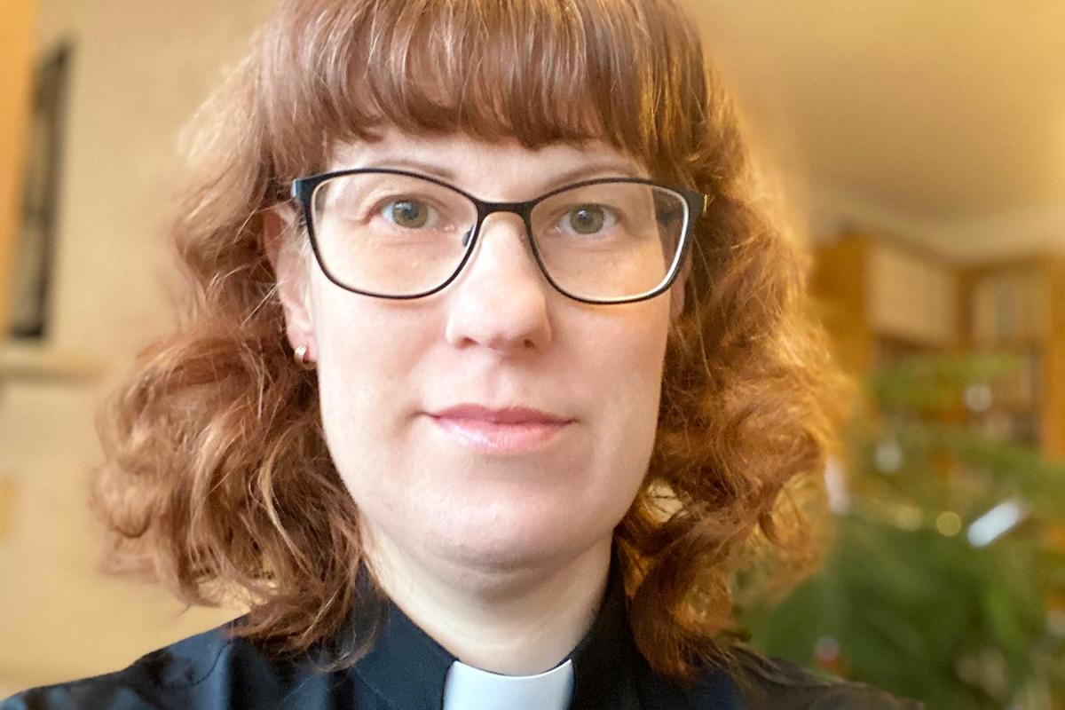 Rev. Lisa Buratti, pastor of the Church of Sweden parish of Lomma in the diocese of Lund. Photo: Lisa Buratti